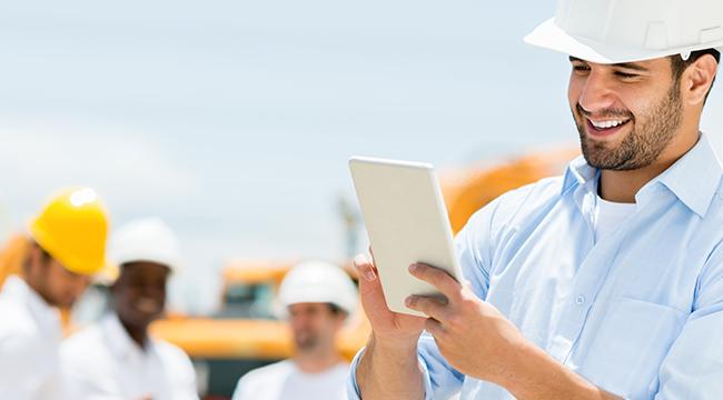 Os benefícios do uso de dispositivos móveis na construção civil