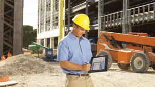 Tablets na construção civil