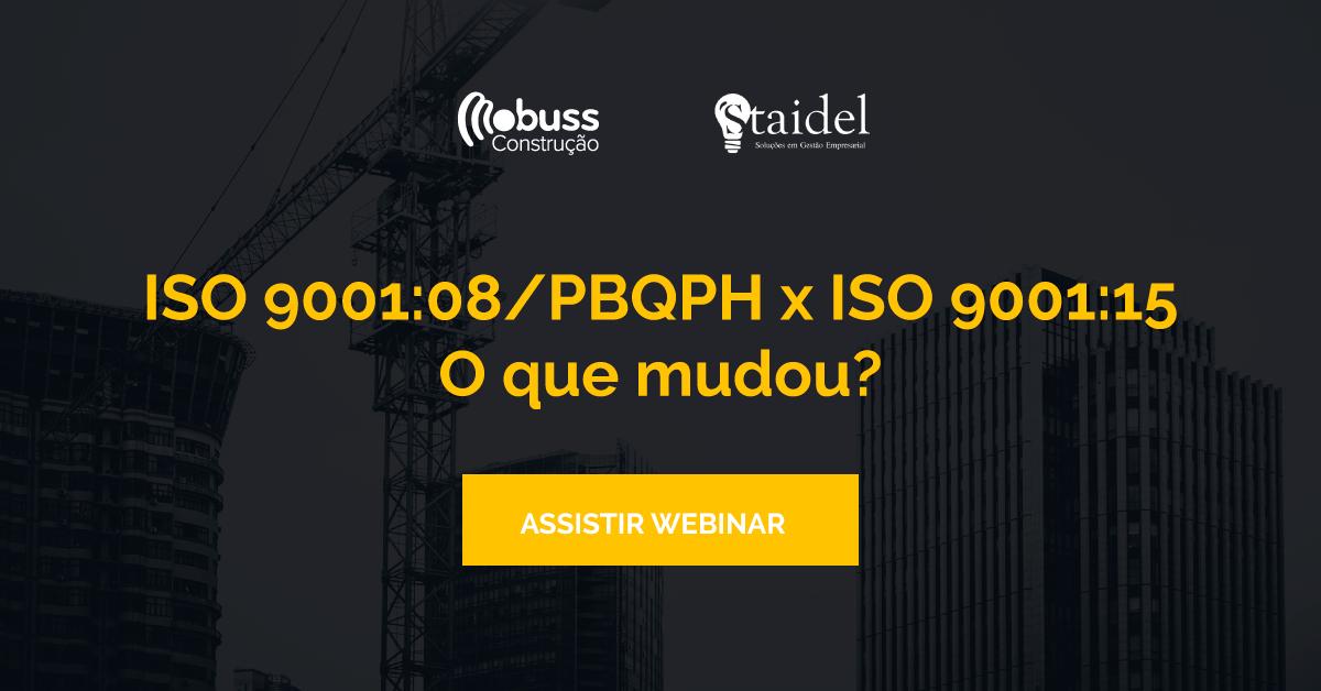 [Webinar] Controle de documentos e registros: ISO 9001:08/PBQPH X ISO 9001:15