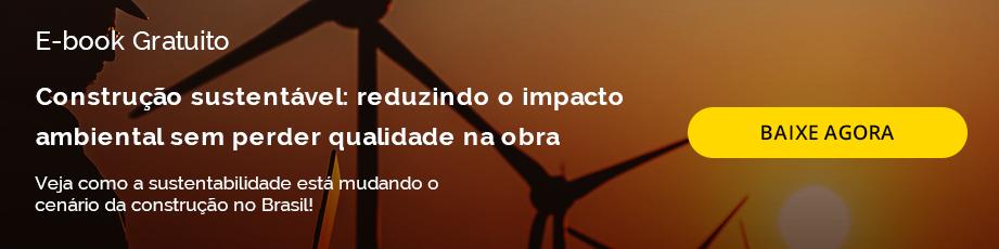 [E-BOOK] Construção sustentável: reduzindo o impacto ambiental sem perder qualidade na obra