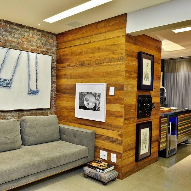madeira de demoliçao como revestimento ecológico