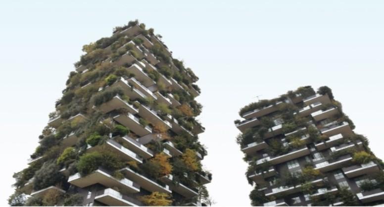 revestimento ecologico em green buildings